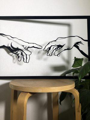 Akrylový obraz - ruky