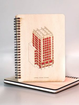 Drevený zápisník - Manderlák
